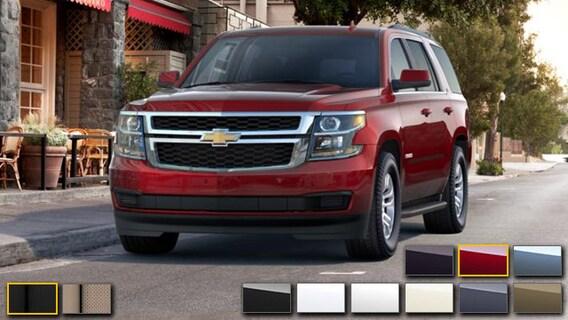2016 Chevrolet Tahoe Color Options Burdick Chevrolet Buick Gmc