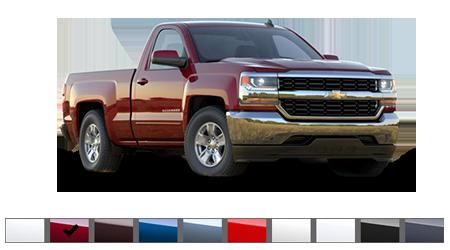 2016 Chevrolet Silverado Color Options Burdick Chevrolet Buick Gmc