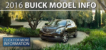 Learn More About the 2016 Buick Models!