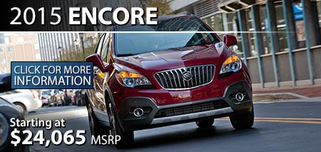 Learn More About the 2015 Buick Encore at Burdick GMC