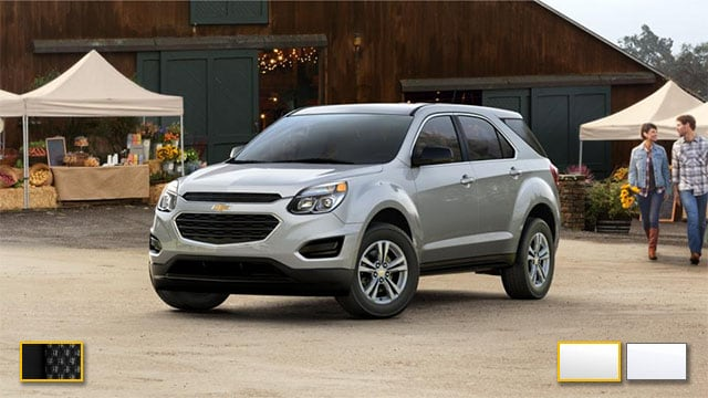 2016 Chevrolet Equinox Color Options | Burdick Chevrolet ...