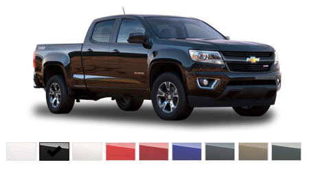 2016 Chevrolet Colorado Color Options | Burdick Chevrolet Buick GMC