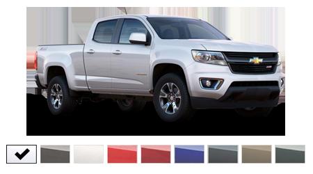 2016 Chevrolet Colorado Color Options | Burdick Chevrolet