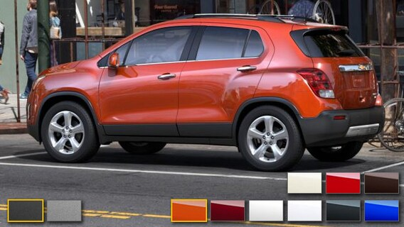 2016 Chevrolet Trax Color Options Burdick Chevrolet Buick Gmc