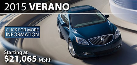 Learn More About the 2015 Buick Verano at Burdick GMC