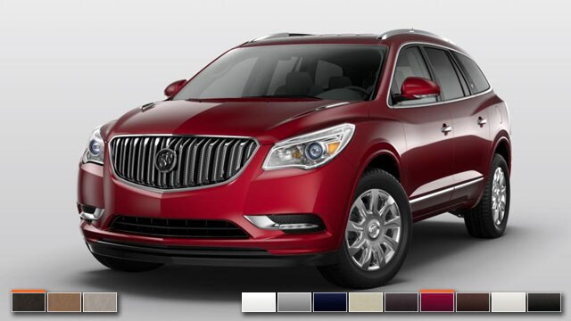 2016 Buick Enclave Color Options | Burdick Chevrolet Buick GMC
