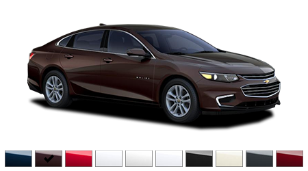 2016 Chevrolet Malibu Color Options | Burdick Chevrolet Buick GMC