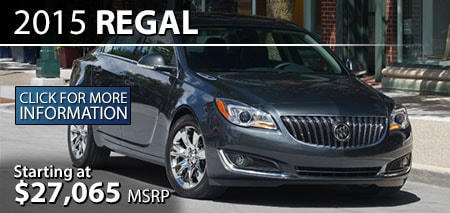 Learn More About the 2015 Buick Regal at Burdick GMC