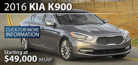 Learn More About the 2016 Kia K900 at Burdick Kia