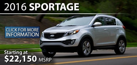 Learn More About the 2016 Kia Sportage at Burdick Kia