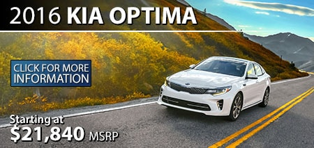 Learn More About the 2016 Kia Optima at Burdick Kia