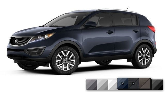 2016 Kia Sportage Color Options Burdick Kia