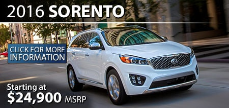 Learn More About the 2016 Kia Sorento at Burdick Kia