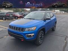 2020 Jeep Compass TRAILHAWK 4X4 Sport Utility 20200 3C4NJDDB4LT112068 for sale near Clinton, IN