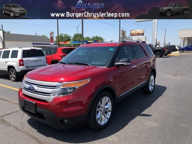 Used 2015 Ford Explorer XLT SUV for sale in Terre Haute, IN