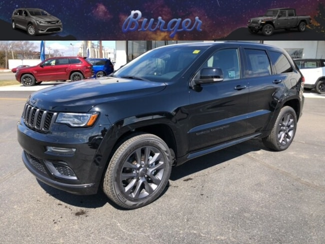 New 2019 Jeep Grand Cherokee HIGH ALTITUDE 4X4 Sport Utility in Terre Haute, IN