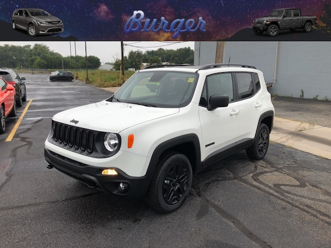 New 2018 Jeep Renegade UPLAND 4X4 Sport Utility in Terre Haute, IN