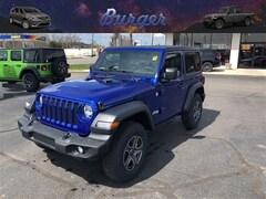 2019 Jeep Wrangler SPORT S 4X4 Sport Utility 19717 1C4GJXAG5KW622349 for sale near Clinton, IN