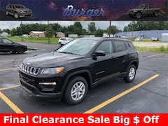 2018 Jeep Compass SPORT FWD Sport Utility 18219 3C4NJCAB1JT368776 for sale near Clinton, IN