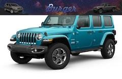 2020 Jeep Wrangler UNLIMITED SAHARA 4X4 Sport Utility 20711 1C4HJXEG1LW206590 for sale near Clinton, IN
