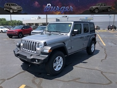 2018 Jeep Wrangler UNLIMITED SPORT S 4X4 Sport Utility 18760 1C4HJXDG1JW208743 for sale near Clinton, IN