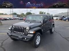 2020 Jeep Wrangler UNLIMITED SPORT S 4X4 Sport Utility 20702 1C4HJXDG9LW110434 for sale near Clinton, IN