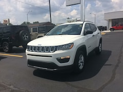 2017 Jeep Compass SPORT FWD Sport Utility 17212 3C4NJCABXHT668388 for sale near Clinton, IN