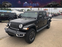 2020 Jeep Gladiator OVERLAND 4X4 Crew Cab 20122 1C6HJTFG0LL150139 for sale near Clinton, IN