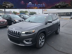 New 2020 Jeep Cherokee LIMITED 4X4 Sport Utility in Terre Haute, IN