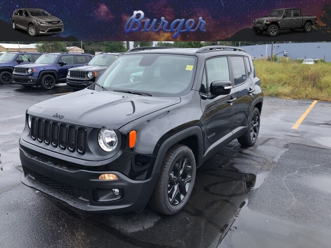 New 2018 Jeep Renegade ALTITUDE 4X2 Sport Utility in Terre Haute, IN