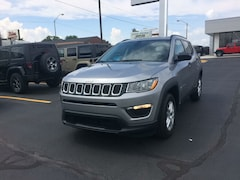 2017 Jeep New Compass Sport FWD SUV 17216 3C4NJCAB6HT668386 for sale near Clinton, IN