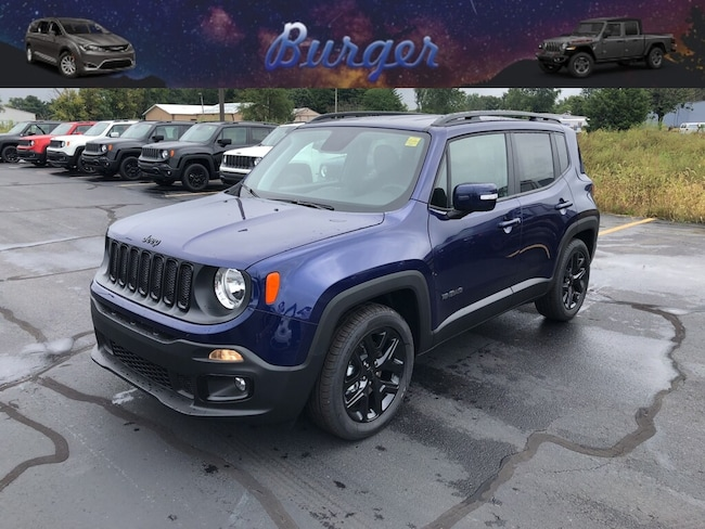 New 2018 Jeep Renegade ALTITUDE 4X2 Sport Utility in Terre Haute, IN