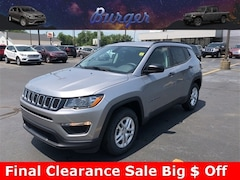 2018 Jeep Compass SPORT FWD Sport Utility 18217 3C4NJCABXJT368775 for sale near Clinton, IN