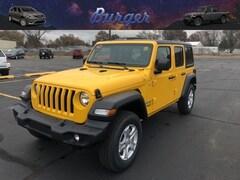 2020 Jeep Wrangler UNLIMITED SPORT S 4X4 Sport Utility 20709 1C4HJXDG7LW202108 for sale near Clinton, IN