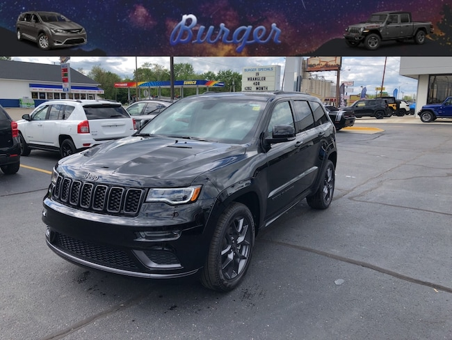 New 2019 Jeep Grand Cherokee LIMITED X 4X4 Sport Utility in Terre Haute, IN