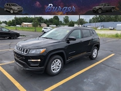 2018 Jeep Compass SPORT FWD Sport Utility 18219 3C4NJCAB1JT368776 for sale near Clinton, IN
