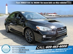 Certified Pre-Owned 2017 Subaru WRX Manual JF1VA1B66H9837133 in Cape May Court House, NJ