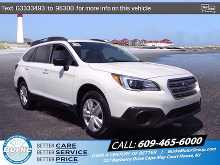 Pre-Owned 2016 Subaru Outback 2.5i Wagon for Sale in Cape May Court House