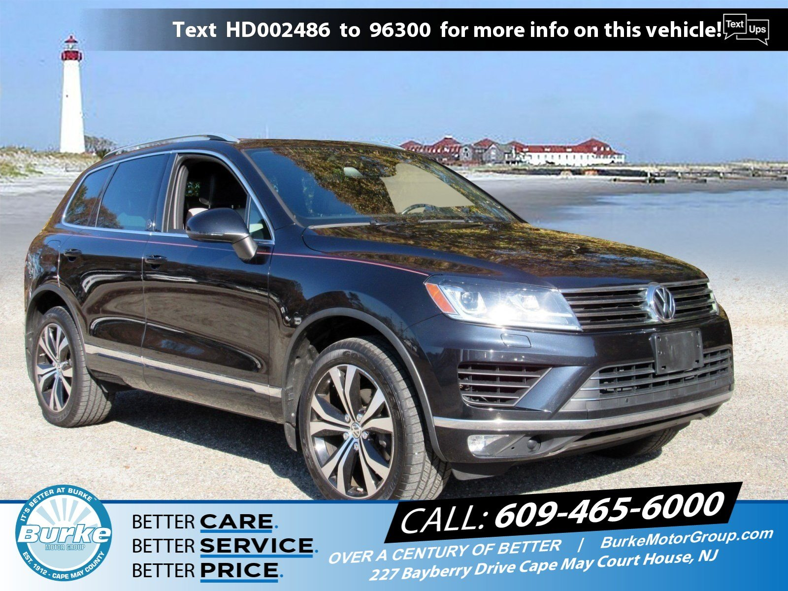 Pre-Owned 2017 Volkswagen Touareg Wolfsburg Edition V6 Wolfsburg Edition for Sale in Cape May Court House
