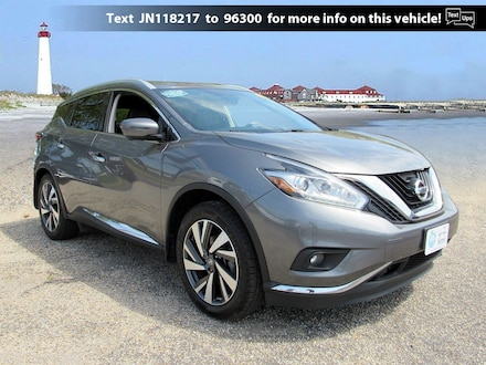 Pre-Owned 2018 Nissan Murano Platinum FWD Platinum for Sale in Cape May Court House