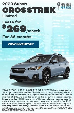 January 2020 Subaru Crosstrek