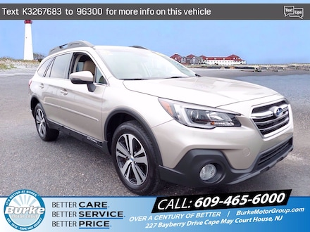 Pre-Owned 2019 Subaru Outback Limited 2.5i Limited for Sale in Cape May Court House