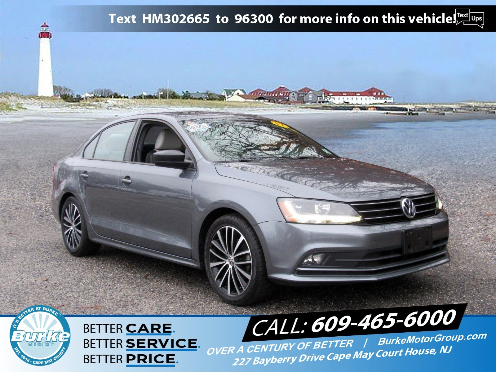 Pre-Owned 2017 Volkswagen Jetta 1.8T Sport 1.8T Sport Auto for Sale in Cape May Court House