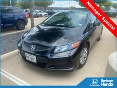 2012 Honda Civic LX Coupe
