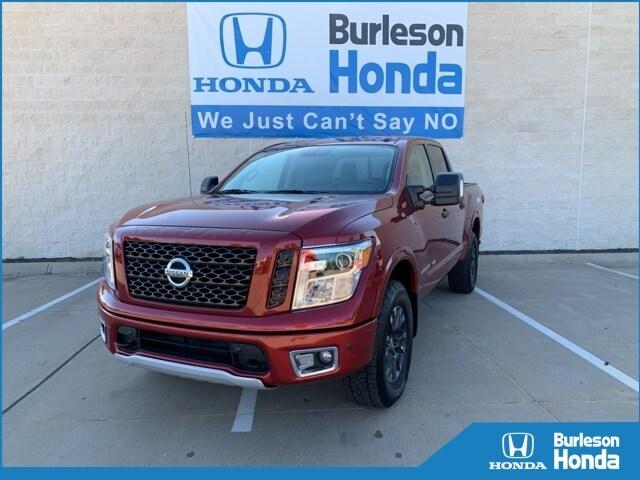 Nissan Of Burleson >> Used 2019 Nissan Titan For Sale At Burleson Honda Vin 1n6aa1e5xkn500522