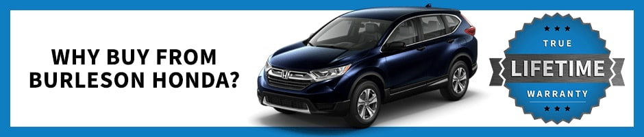 Why Buy From Burleson Honda
