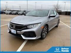 2019 Honda Civic LX Hatchback