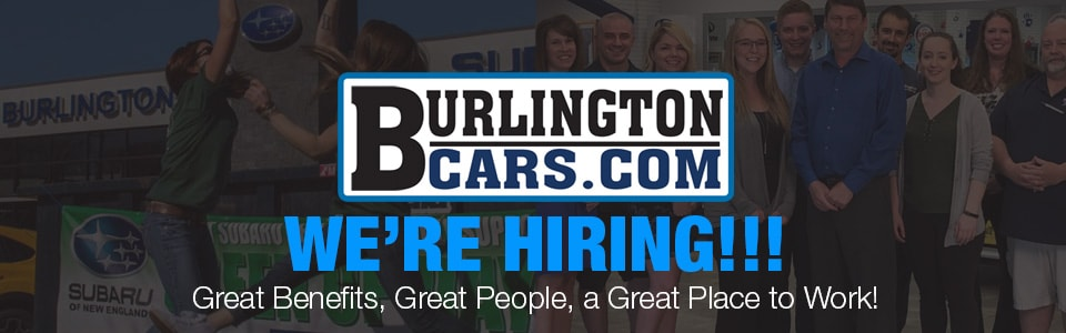 Burlington Subaru Service Technician Job Open