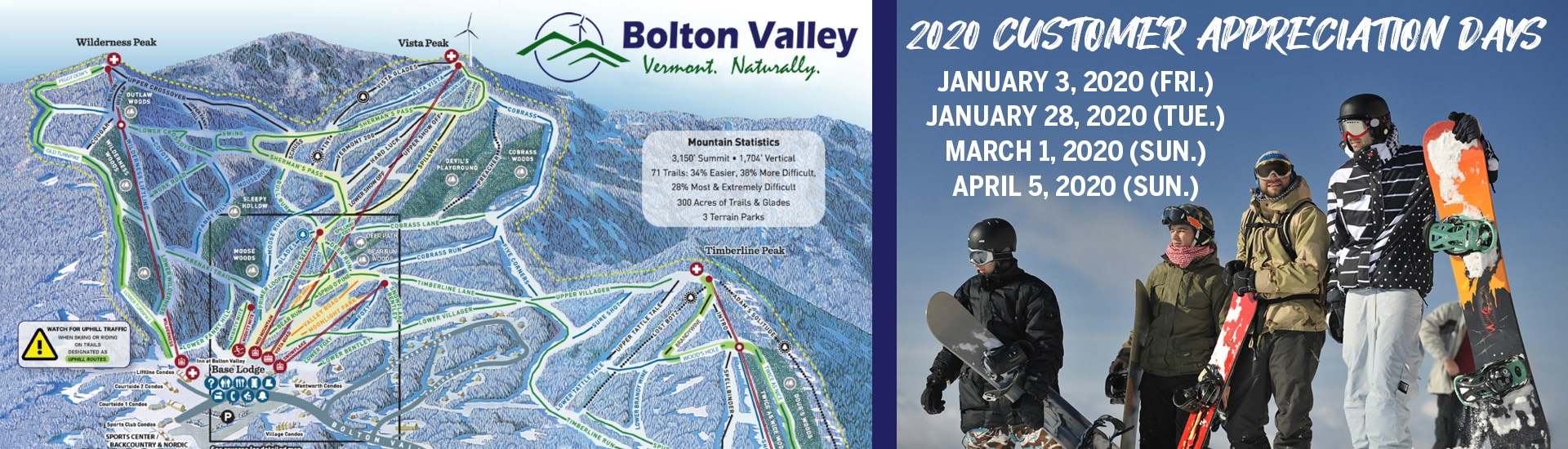 Bolton Valley Customer Appreciation Days