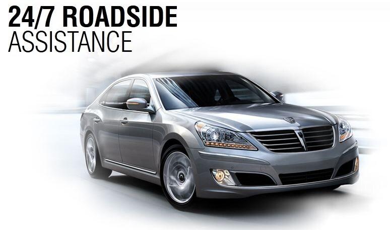 Hyundai Assurance: 24/7 Roadside Assistance